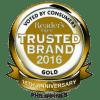 consumer trusted brand 2016 2