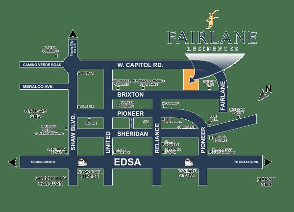 Fairlane DMCI Map