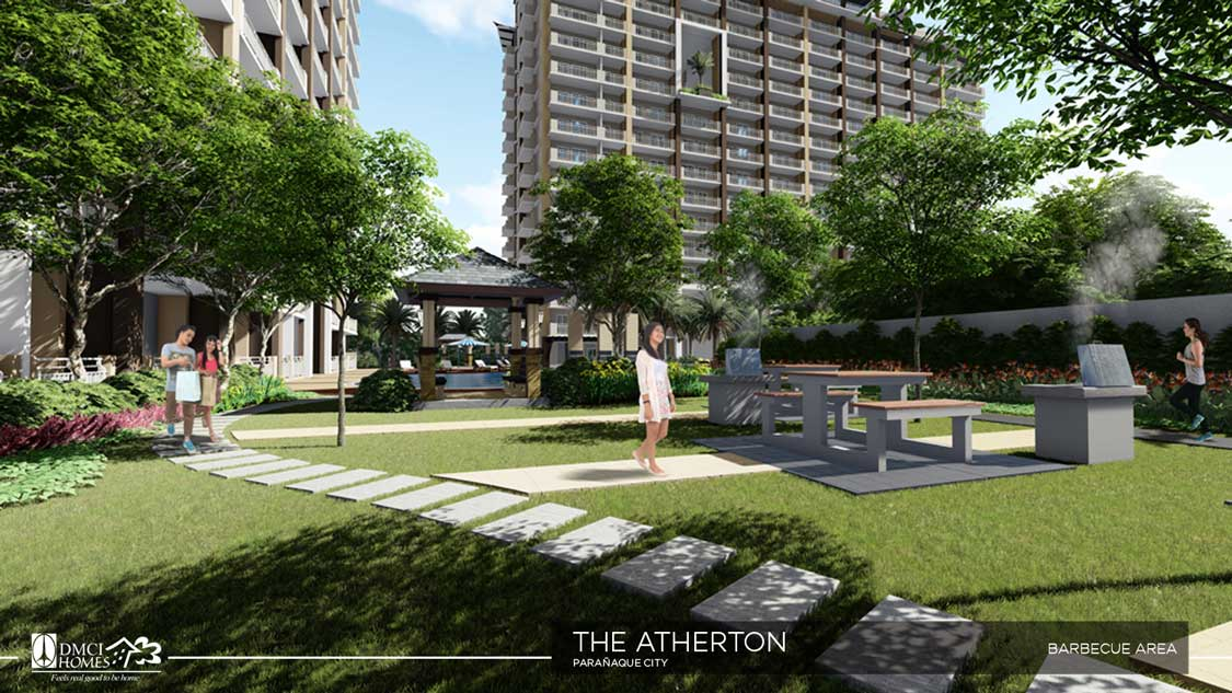 Relax with Athertons Greeneries (Did we mention we have outdoor Barbeque areas too?)