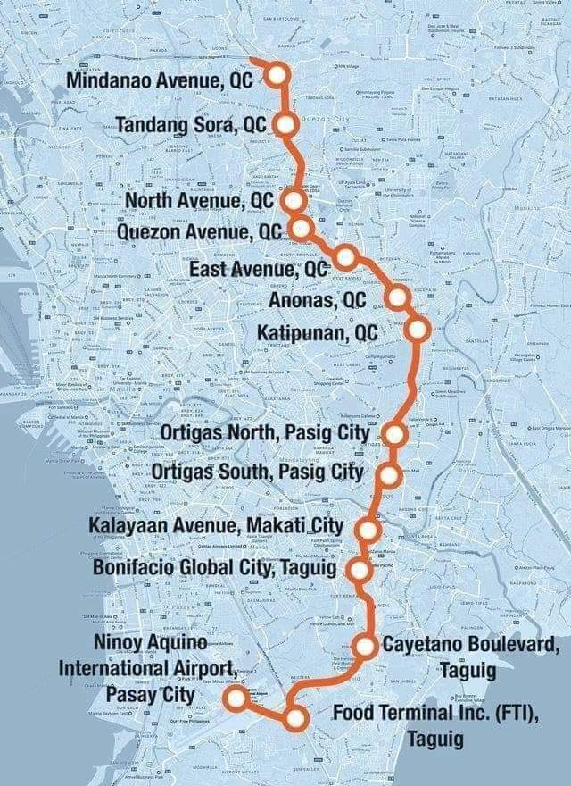 The Metro Manila Subway started construction February 2019! Quezon Avenue will have a station!