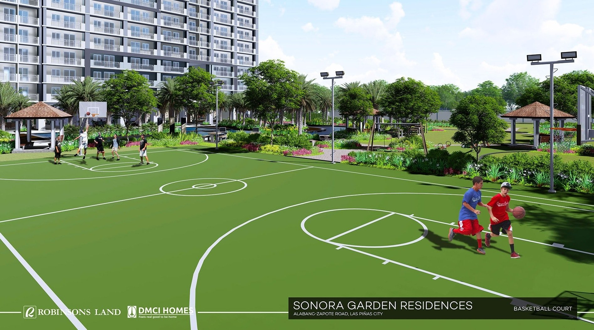 Sonora Garden Residences-Basketball Court-large