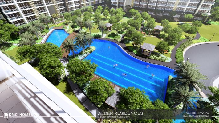 Alder DMCI Acacia 17 Balcony View