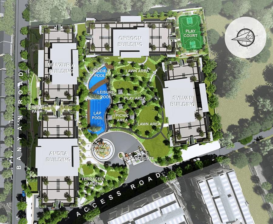 Alder Site Development Plan