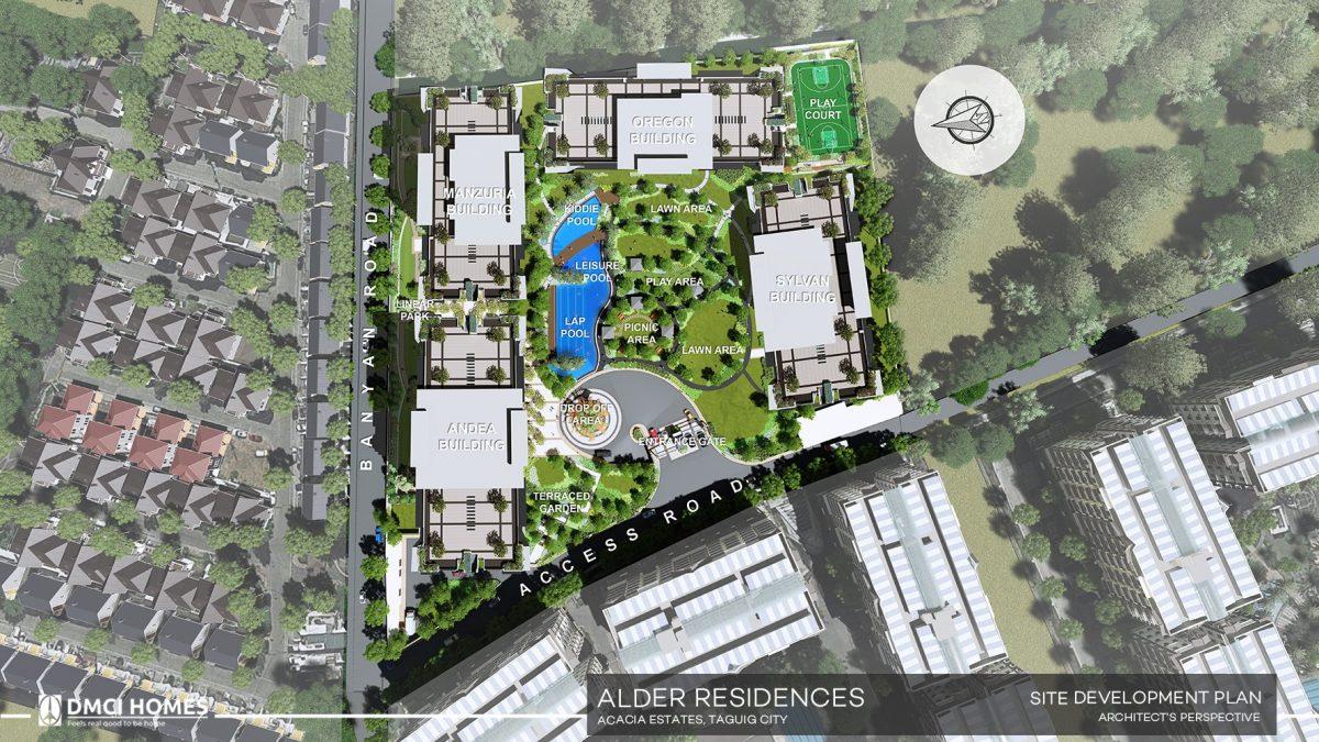 Alder Site Plan