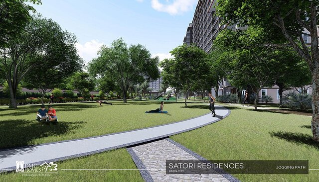 Relax with Satori Greeneries (Did we mention we have outdoor Barbeque areas too?)